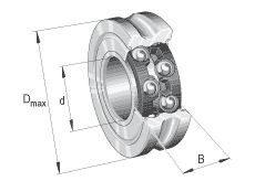 Double Row Angular Contact Ball Bearing Lfr Series Featured Image