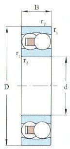 Self-Aligning Ball Bearing D 75-150mm