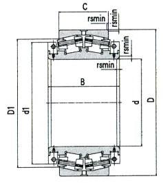 Split Spherical Roller Bearing D 120mm-1250mm